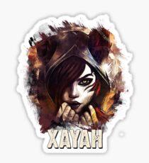 League of Legends XAYAH Sticker