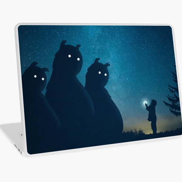 The Gift (blue) Laptop Skin