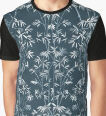 The Nature: White bamboo Graphic T-Shirt