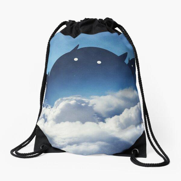 Beyond the Clouds Drawstring Bag