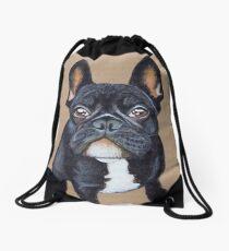 French Bulldog Drawstring Bag