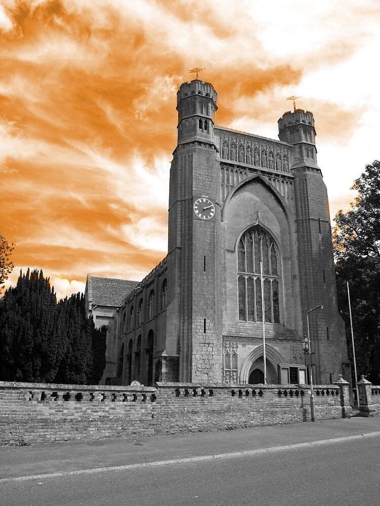 scary church 2 by darkmonkuk