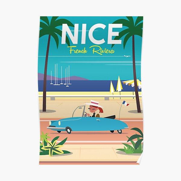 Affiche Nice-Côte d'Azur Poster