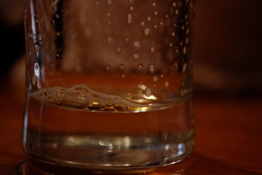 beer glass at Redbones by colleenboston