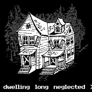 A dwelling long neglected... (Dark Tee) by er3733