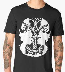 Cocteau Heads Print Men's Premium T-Shirt
