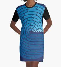 Almighty Ocean Graphic T-Shirt Dress