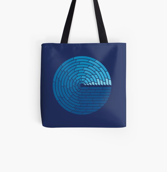 Almighty Ocean All Over Print Tote Bag