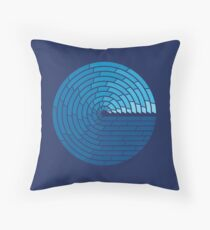 Almighty Ocean Throw Pillow