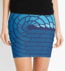 Almighty Ocean Mini Skirt
