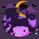 My Halloween - Shadow Steed by Caribou Rose