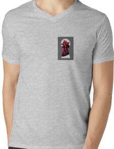 key Mens V-Neck T-Shirt