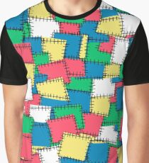 Patches. Graphic T-Shirt