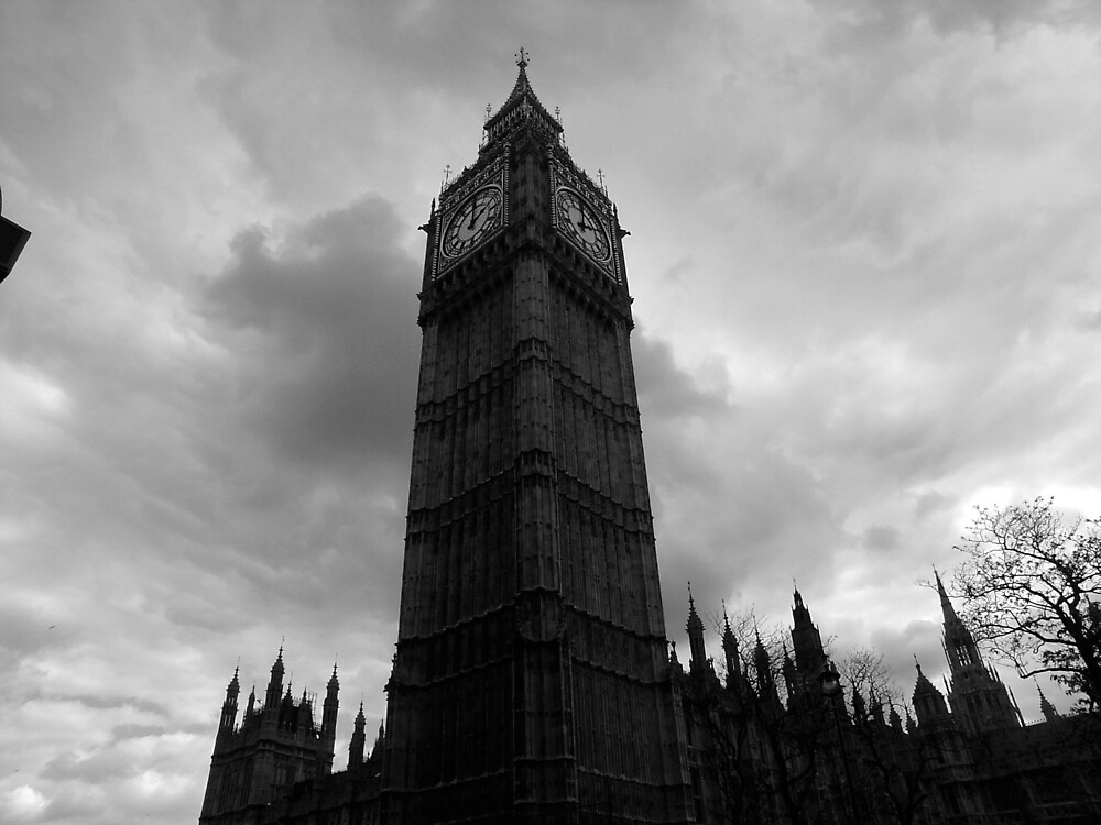 Big Ben in London by colleenboston