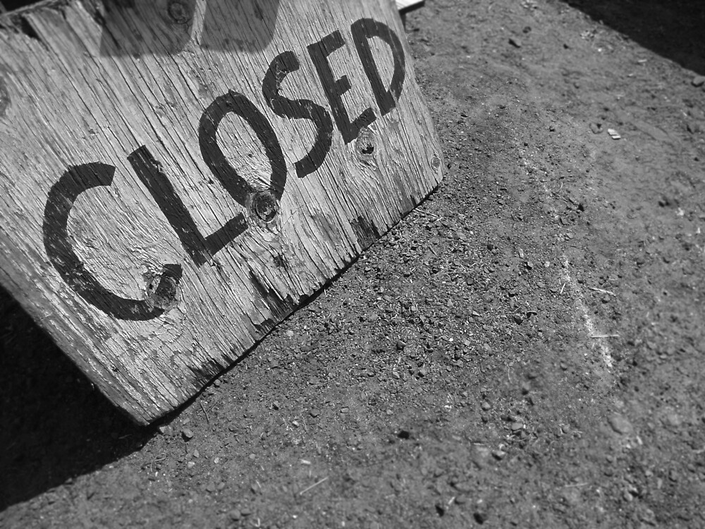 closed sign by colleenboston