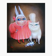 """Together forever 31"""" x 24"""". Original Painting - Sold Photographic Print"""