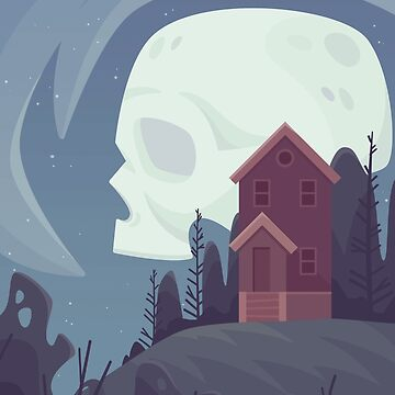 Spooky Moon by ShanelleO