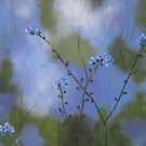 Field Impressions 10: Forget-Me-Not (card only) by Tanja Udelhofen