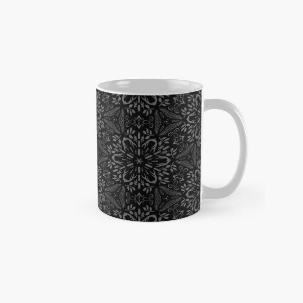Rustic Dark Pattern Classic Mug