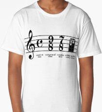 Wibbly-wobbly timey-wimey Long T-Shirt