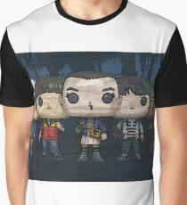 Camiseta gráfica stranger