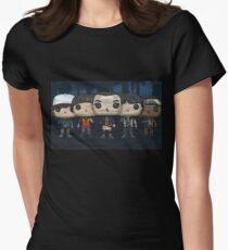 Camiseta entallada para mujer stranger