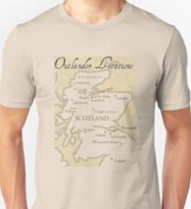 The Outlander Location T-Shirt