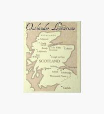 The Outlander Location Art Board
