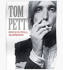 Rock 'n' Roll Guardian Tom Petty Poster