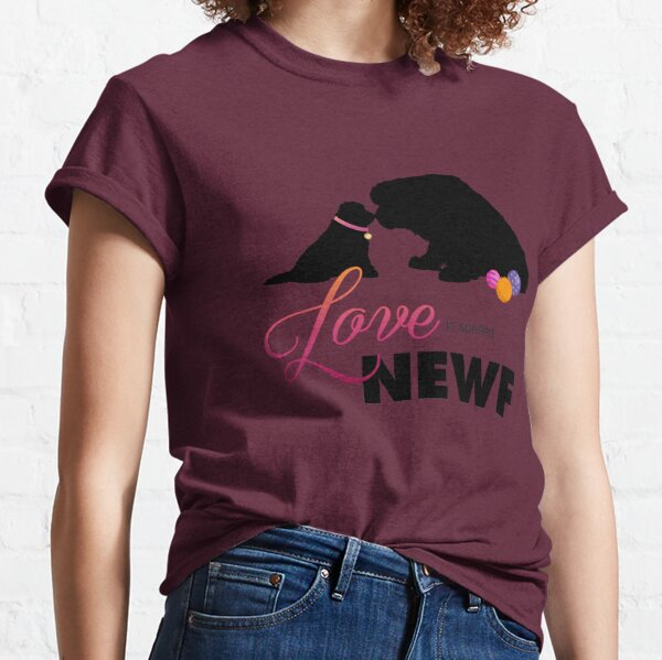 Love is spelled NEWF Classic T-Shirt