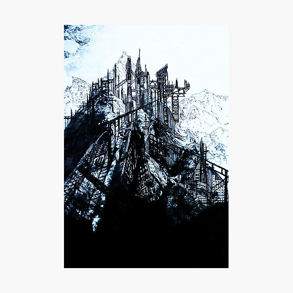 Mountain fortress Photographic Print