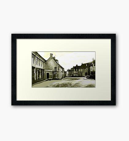 Minchinhampton Market Framed Print