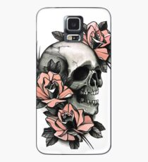 Skull and Roses Case/Skin for Samsung Galaxy