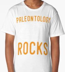 Paleontology tshirt - paleontology rocks Long T-Shirt
