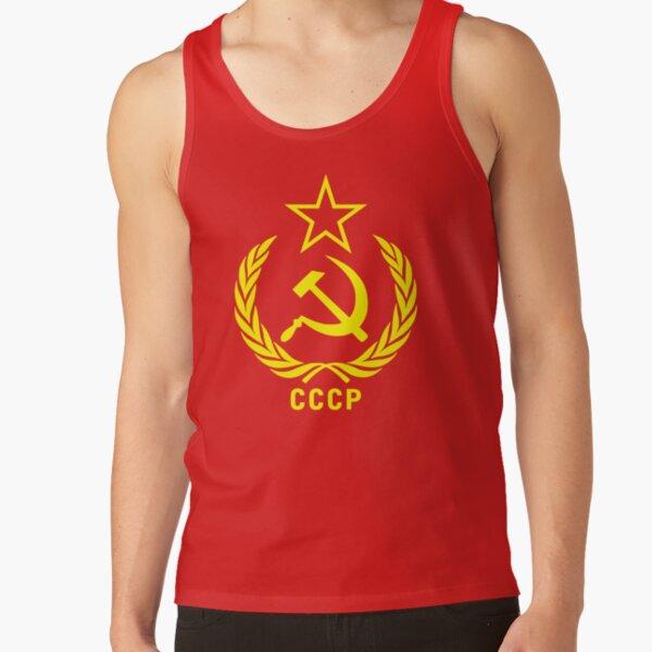 Soviet Communist CCCP Hammer & Sickle Tank Top