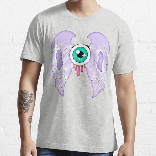 Pastel Goth   Winged Eye   Light Grey Essential T-Shirt