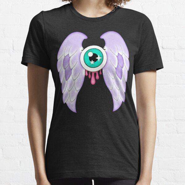 Pastel Goth   Winged Eye   Black Essential T-Shirt