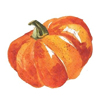 Watercolor Pumpkin Spice by CafePretzel