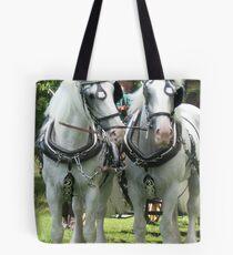 White Shires Tote Bag