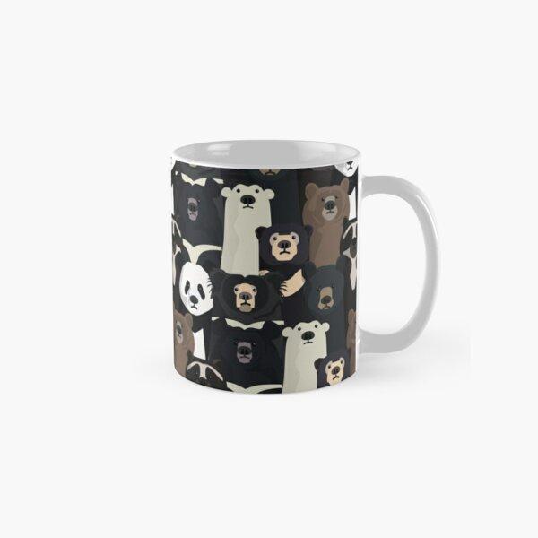 Bears of the world pattern Classic Mug