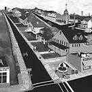 Home Town USA in Black & White filter by Weshon  Hornsby