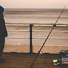 Fisherman By The Sea by Robert Cook