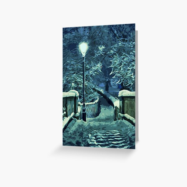 Snowy Nights Greeting Card