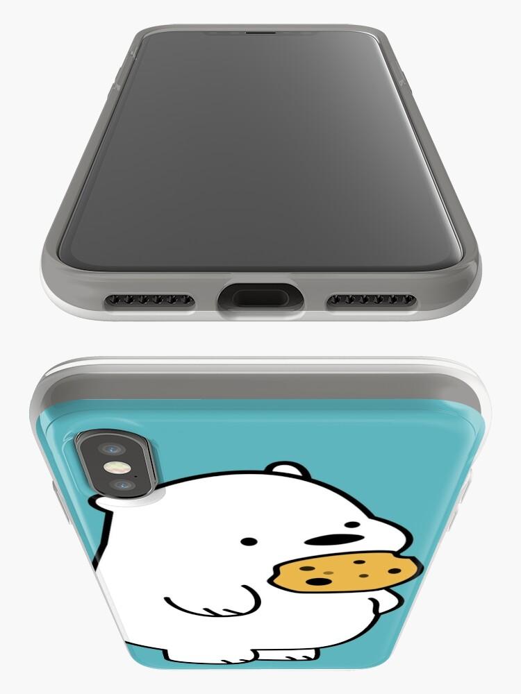 Alternative Ansicht von Ice Bear-Plätzchen iPhone-Hülle & Cover