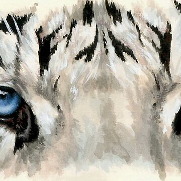 The Royal White Tiger by BarbBarcikKeith