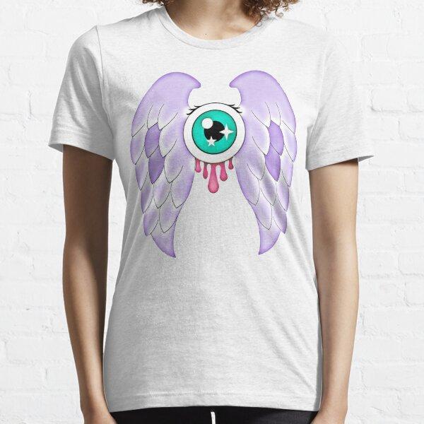 Pastel Goth   Winged Eye   White Essential T-Shirt