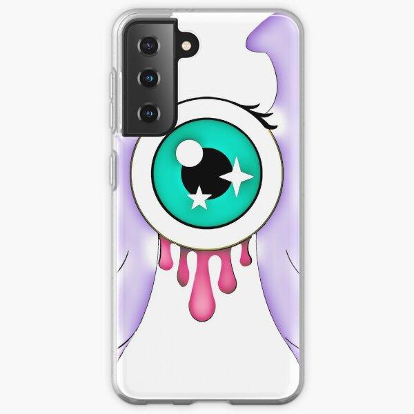 Pastel Goth   Winged Eye   White Samsung Galaxy Soft Case