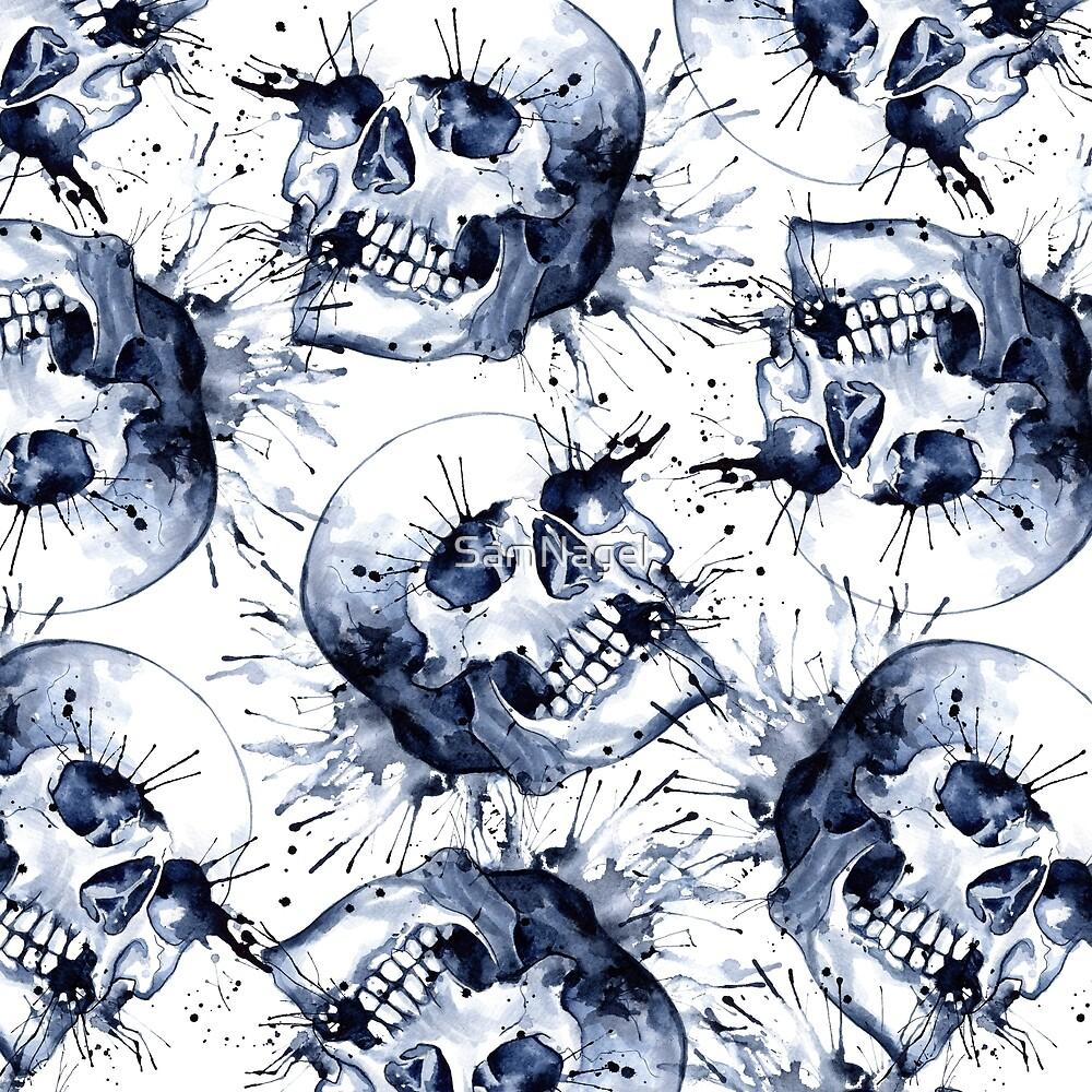 Slate Skull Pattern by SamNagel