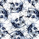 Slate Skull Pattern by SamNagel