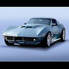 1969 Corvette Stingray II by DaveKoontz